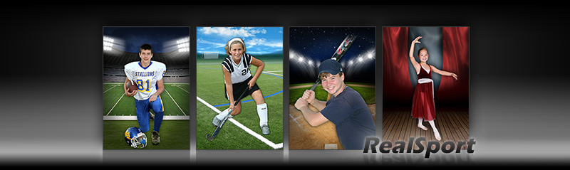 RealSport Digital Sports Background Templates
