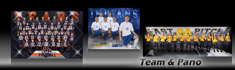 Team Custom Sports Poster Photo Templates