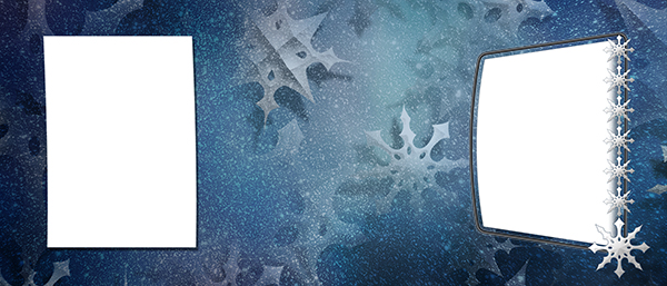 holiday  winter event photo templates