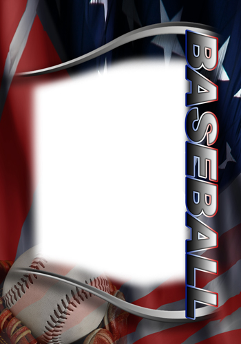 Baseball photo templates for Baseball card size template