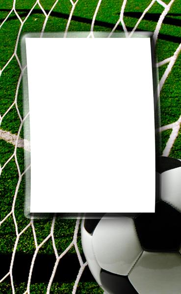soccer photo templates