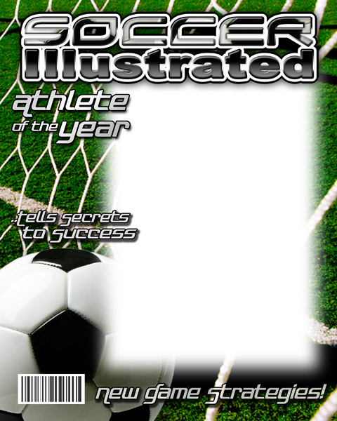soccer photo templates
